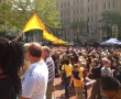 tailgate crowd yellow banner-resize